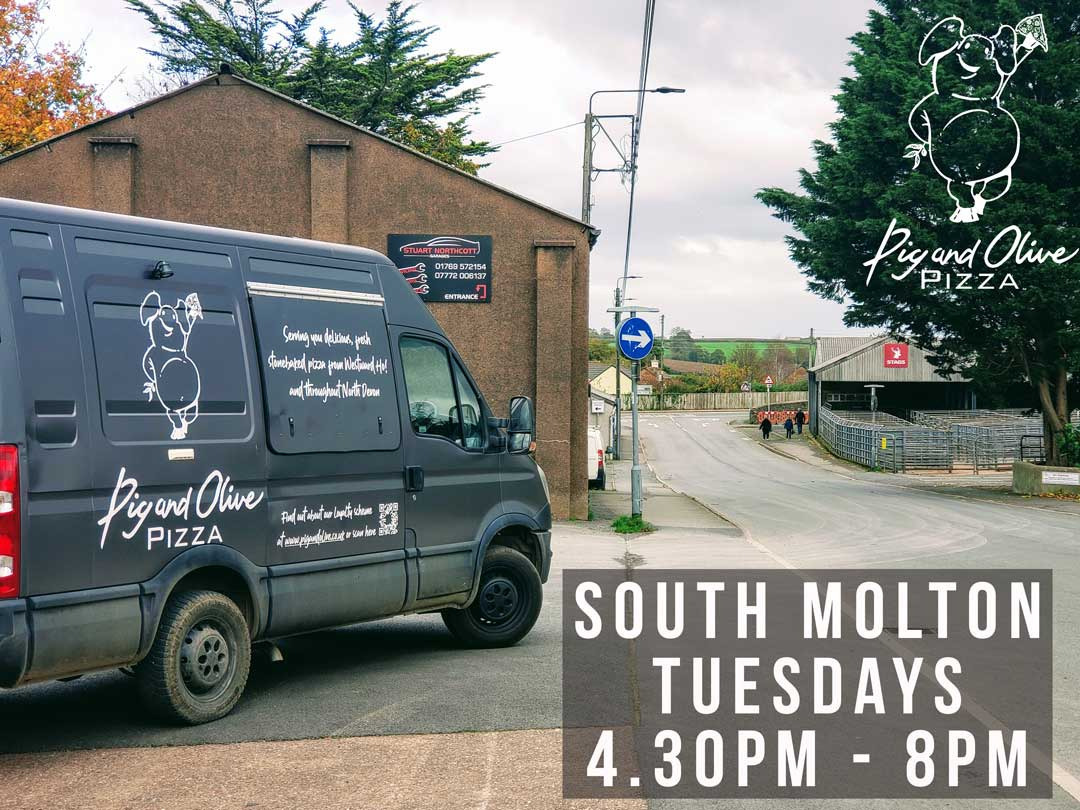 South Molton - Every Tuesday & Get 15% discount on your first online order and Join our Loyalty Scheme