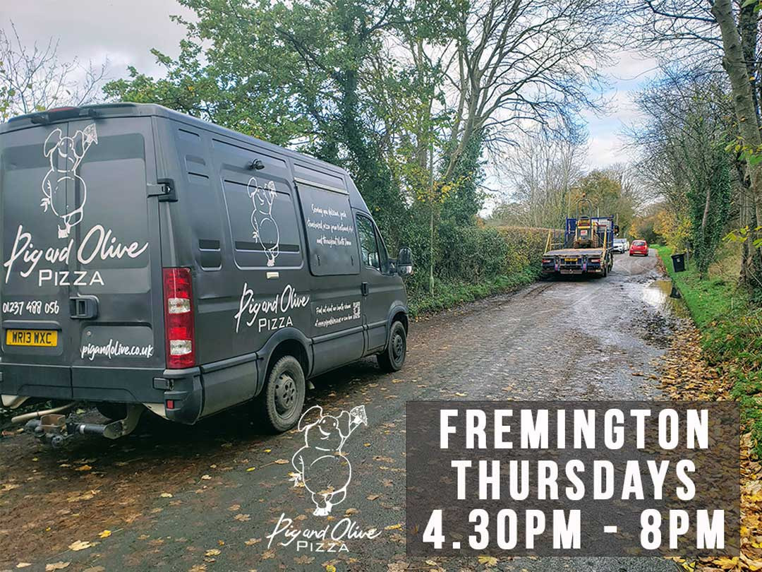 Fremington - Every Thursday & Get 15% discount on your first online order PLUS Join our Loyalty Scheme